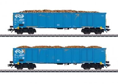 Märklin 47193 NS Hochbordwagen-Set 2-tlg. Ep.4