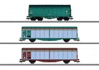 """Märklin 47871 FS Güterwagen-Set """"Italien"""" Ep.6"""