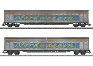 Märklin 48065 Transwaggon Schiebewandwg-Set 2-tlg Ep.6