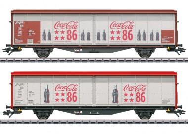 Märklin 48345 Coca-Cola Schiebewandwagen-Set Ep.6
