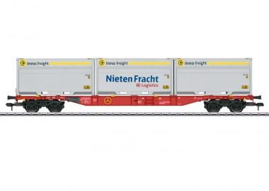Märklin 58641 DBAG Container-Tragwagen Sgns 691 Ep.6