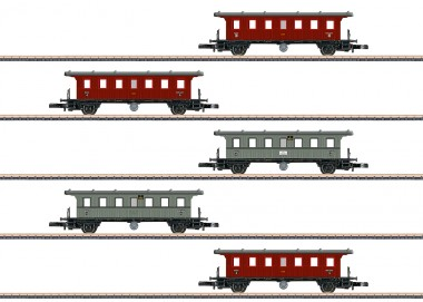 Märklin 87009 KWStE Personenwagen-Set 5-tlg Ep.1