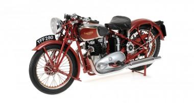 Minichamps 122133700 Triumph Speed Twin rot 1939