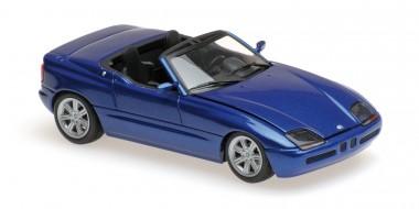 minichamps 940020101 bmw z1 e30 roadster blau met 1991. Black Bedroom Furniture Sets. Home Design Ideas