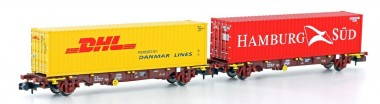 MFTrain 33375 VTG Containerwagen-Set 2-tlg Ep.6
