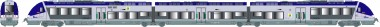 LS Models 10578 SNCF Triebzug Serie AGC 3-tlg Ep.5/6 AC