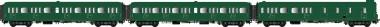 LS Models 40322 SNCF Personenwagen-Set 3-tlg Ep.2b