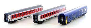 LS Models 49051 CNL DBAG CD Nachtzugwagen-Set 3-tlg Ep.6