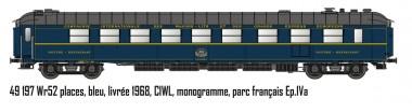 LS Models 49197 SNCF CIWL Restaurantwagen Ep.4a