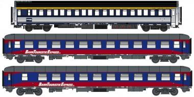LS Models 76006 BTE Nachtzugwagen-Set 3-tlg. Ep.6