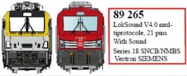 LS Models 89265 LokSound V4.0 für Serie 18 & Vectron