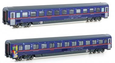 LS Models 97029 ÖBB Nightjet Sitzwagen-Set 2-tlg Ep.6