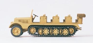 Preiser 16544 SdKfz11 Halbketten-ZM geschl. Pioniere