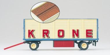 Preiser 21020 Packwagen Zirkus Krone, offen. Lad