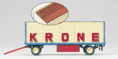 Preiser 21021 Packwagen Zirkus Krone, offen. Lad