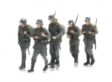 Artitec 387.404 Marchierende Deutsche Infanterie, 6 Fig.