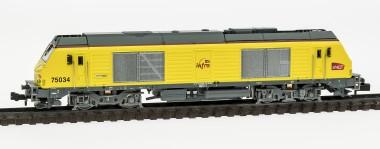 REE Modeles NW107 SNCF Diesellok Serie BB75000 Ep.5/6