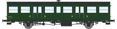 REE Modeles VB149 SNCF Personenwagen 2.Kl. 2-achs Ep.3b
