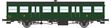 REE Modeles VB153 SNCF Personenwagen 2.Kl. 2-achs Ep.3b
