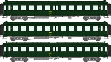 REE Modeles VB235 SNCF Personenwagen-Set 3-tlg Ep.4