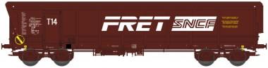 REE Modeles WBSE009 SNCF FRET Hochbordwagen 4-achs Ep.5