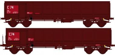 REE Modeles WBSE014 SNCF Hochbordwagen-Set 2-tlg Ep.5