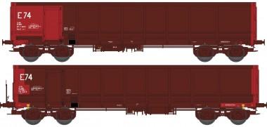 REE Modeles WBSE016 SNCF Hochbordwagen-Set 2-tlg Ep.5