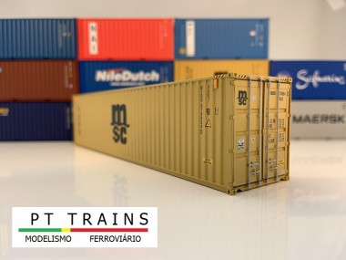 PT Trains 840001 40´ HC MSC (MEDU8748542)
