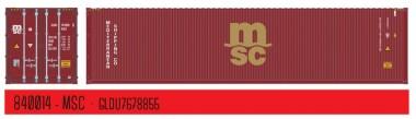 PT Trains 840014 40´ HC MSC (GLDU7678855)