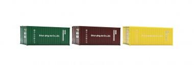 Roco 05217 Container 20' Set 3-tlg Ep.6