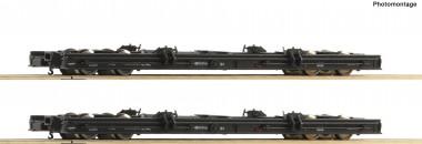 Roco 34067 2er Set Rollwagen DR