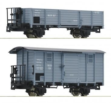 Roco 34559 RüKB Güterwagen-Set 2-tlg. Ep.1