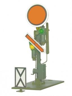 Roco 40609 Vorsignal, Scheibe und Flügel beweglich