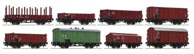 Roco 44001 CSD Güterwagen Set 8-tlg. Ep. 3