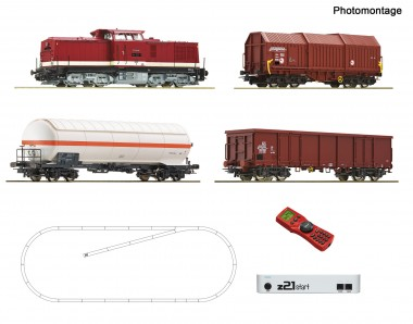 Roco 51321 Digital-Startset DR BR114 +Güterzug Ep.4