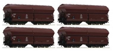 Roco 67083 DB Selbstentladewagen-Set 4-tlg Ep.3/4