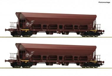 Roco 67088 DR Selbstentladewagen-Set 2-tlg Ep.4