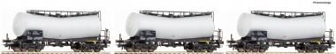 Roco 67149 ATIR-Rail Knickkesselwagen Set  3-tlg.