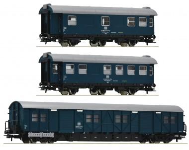 Roco 67198 DB Bauzugwagen-Set 3-tlg. Ep.4