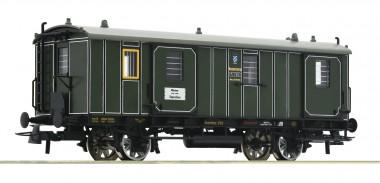 Roco 74902 K.Bay.Sts.B. Gepäckwagen 2-achs Ep.1