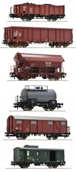 Roco 76030 DR Güterwagen-Set 6-tlg  Ep.4