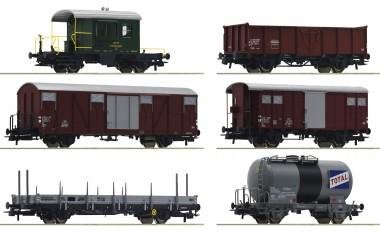 Roco 76051 SBB Güterwagen-Set 6-tlg Ep.4
