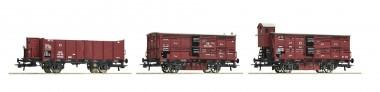 Roco 76060 KPEV Güterwagen-Set 3-tlg Ep.1