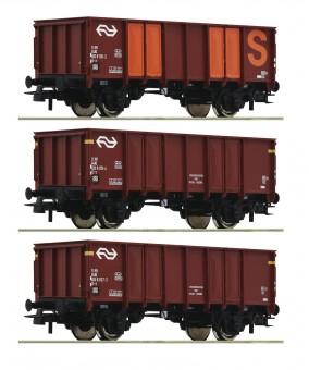 Roco 76062 NS Güterwagen-Set 3-tlg Ep.4