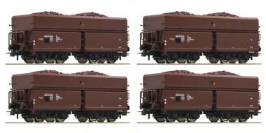Roco 76063 ÖBB Güterwagen-Set 4-tlg Ep.3/4