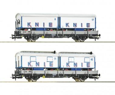 Roco 76064 SBB Zirkus Knie Güterwagen-Set 2-tlg Ep6