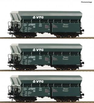 Roco 76092 VTG Selbstentladewagen-Set 3-tlg. Ep.6