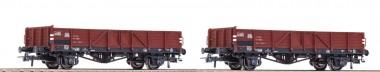 Roco 76100 ÖBB offene Güterwagen-Set 2-tlg Ep.4