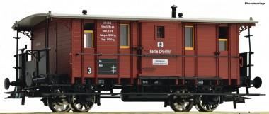 Roco 76409 KPEV Fakultativwagen Ep.1