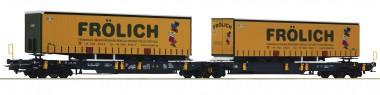 Roco 76431 WASCOSA Doppeltaschenwagen Ep.6